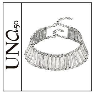 "NWOT ( Uno de 50 ) ""Lizza"" Caged Choker Necklace"